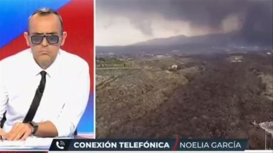 Risto Mejide la vuelve a liar al hablar del volcán de La Palma