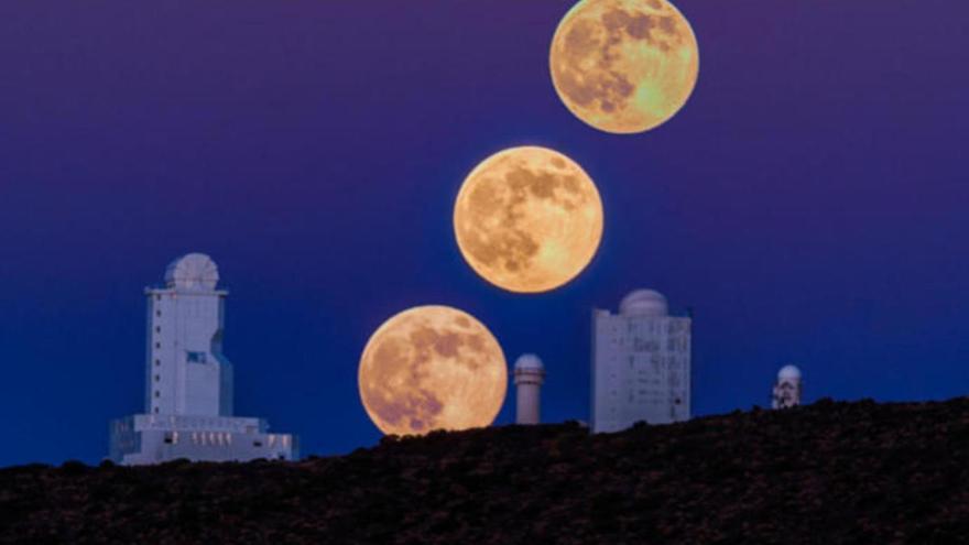 Cómo ver la Superluna del mes de abril desde casa en Canarias