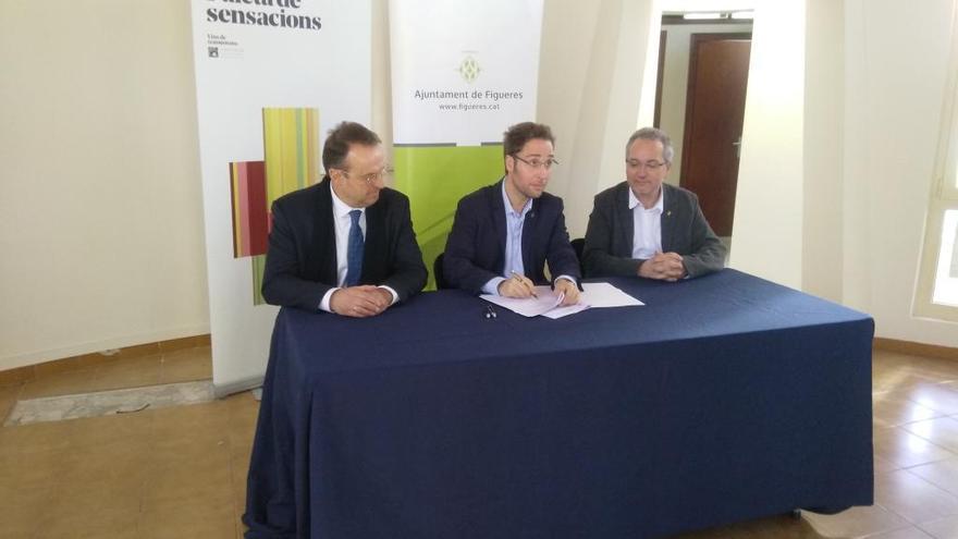 Ajuntament de Figueres i DO Empordà signen el conveni d'ús de la nova seu