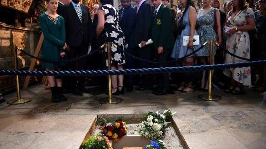 La voz de Hawking, enviada al espacio durante su funeral
