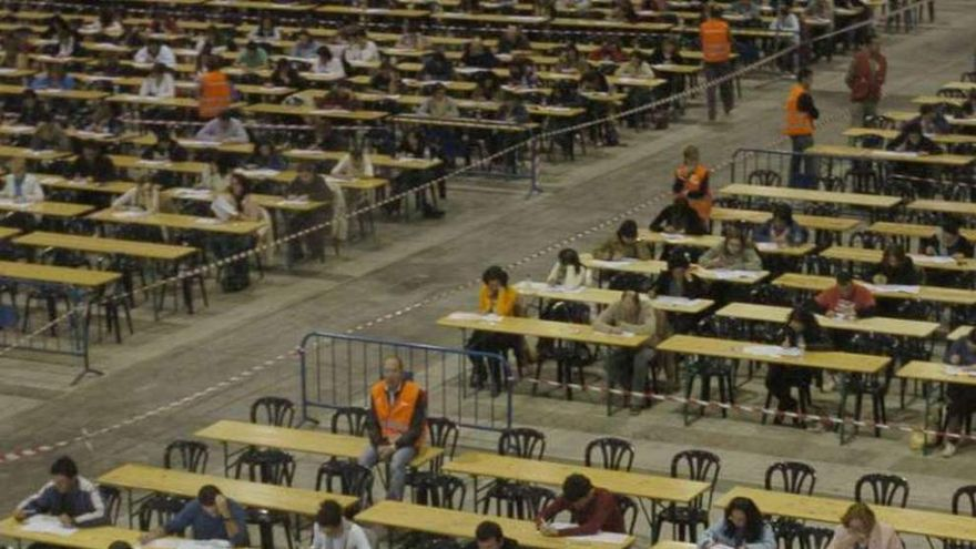 Casi 5.000 personas competirán este fin de semana por 396 plazas en la oposición de administrativo y de empleo social