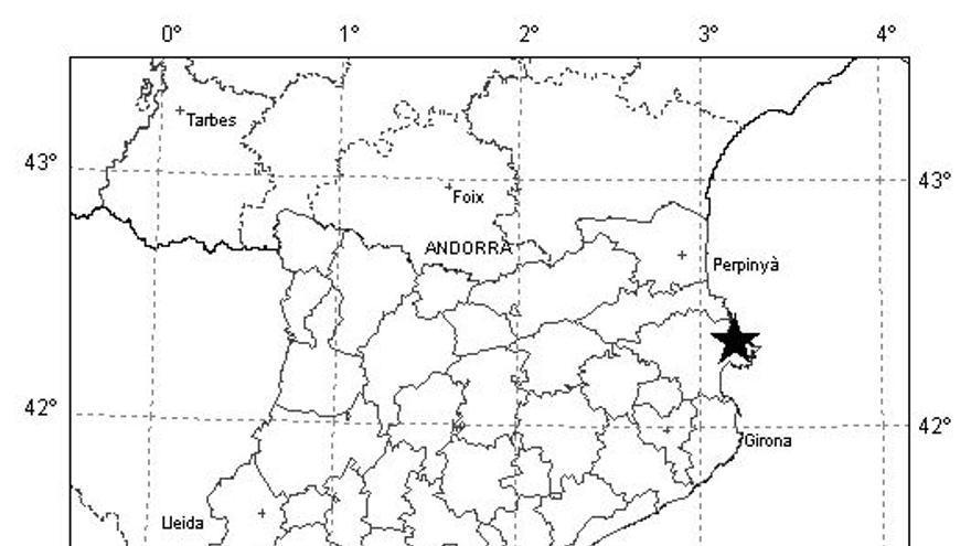 Un terratrèmol al nord de la costa de l'Alt Empordà es fa sentir a la comarca