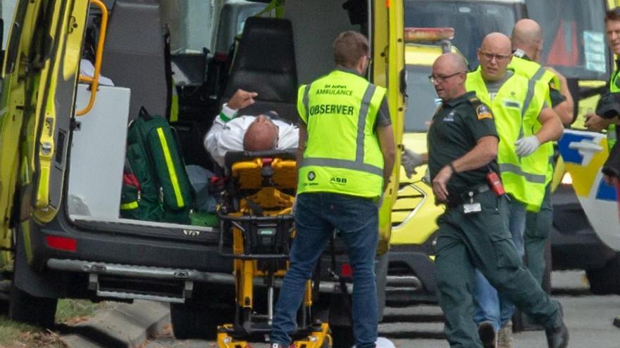 Las imágenes de los ataques en las mezquitas de Christchurch