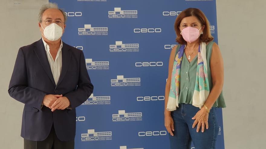 La Junta y CECO señalan la necesidad de desarrollar medidas para fomentar la salud de los trabajadores