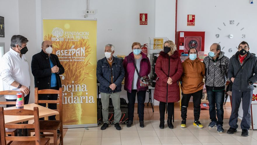 49 familias necesitadas de Zamora tendrán una cesta de Navidad gracias a la Cocina Solidaria