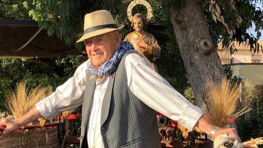 """Fallece en Benidorm a los 92 años Francisco Alvado, """"L'Esquilaor"""""""