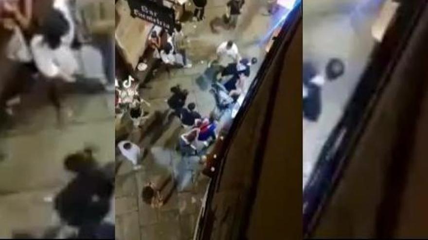 Una brutal pelea deja un herido en Ourense en el primer sábado de fiesta de la capital