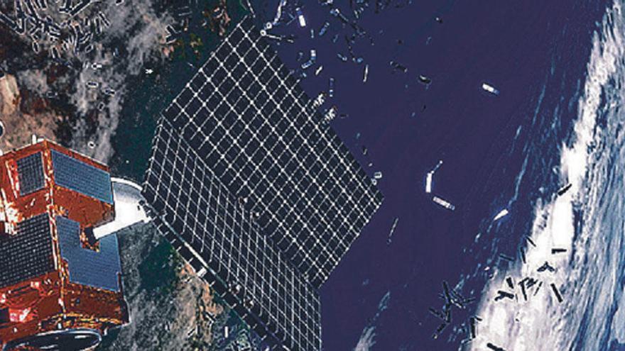Misión: Limpiar la basura espacial