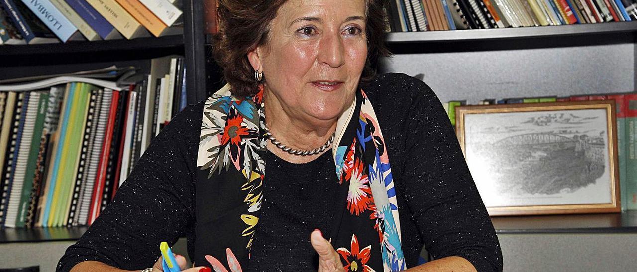 La exalcaldesa de Carlet, Mª Ángeles Crespo, en una imagen de archivo. | VICENT M. PASTOR