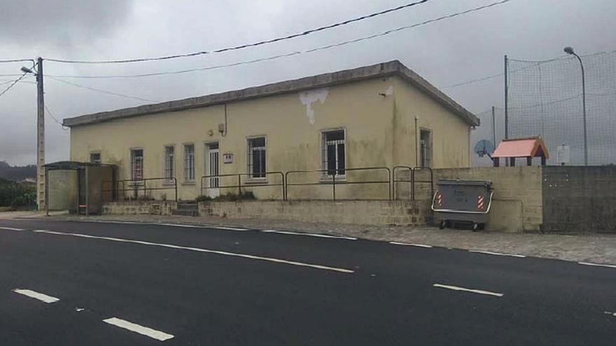El centro social de A Cachada se someterá a una profunda renovación