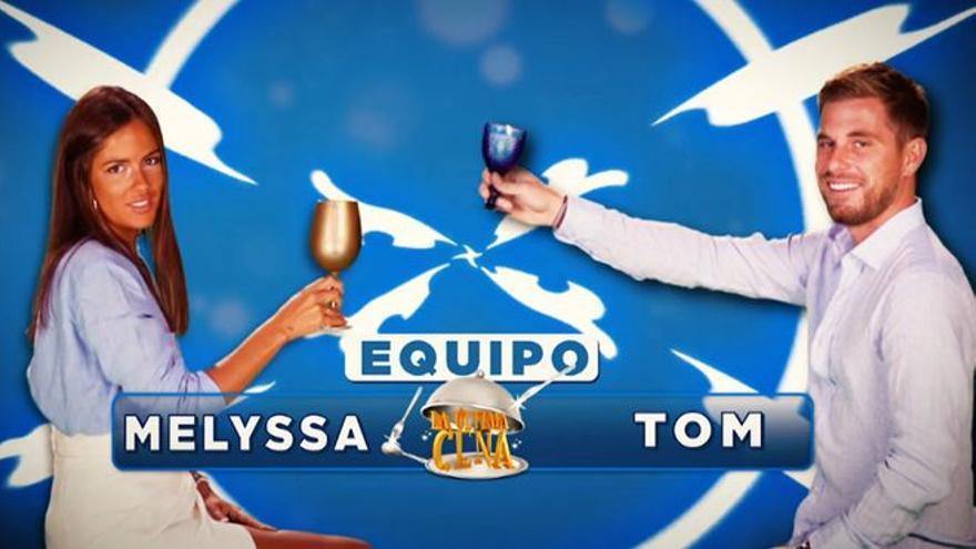 Melyssa y Tom cocinarán juntos en 'La última cena' tras su paso por 'Supervivientes'