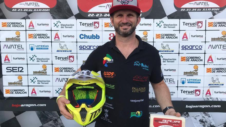 Toni Vingut finaliza tercero la Baja Aragón en quads