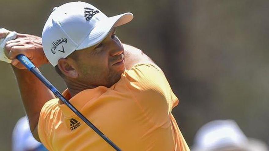 Sergio García comienza segundo en Dubai
