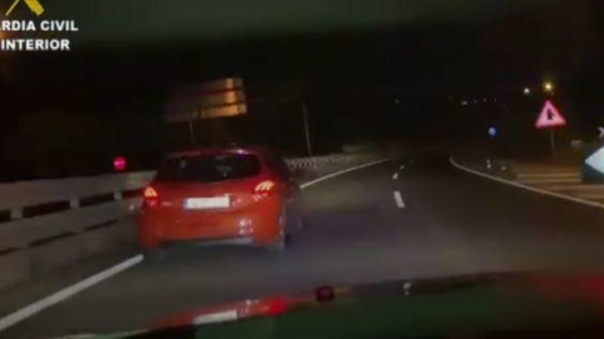Polizei stoppt betrunkenen Geisterfahrer auf Andratx-Schnellstraße