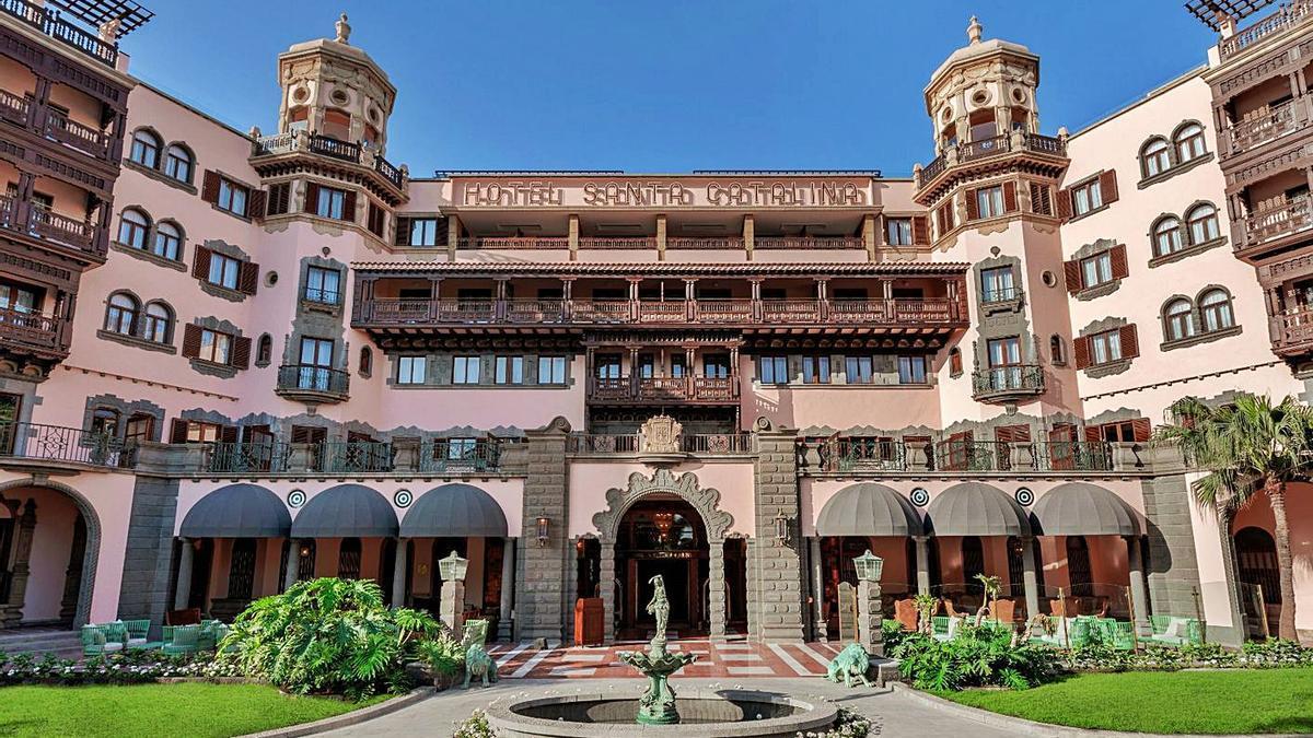 El Santa Catalina            se suma a un 'club' de hoteles exclusivos de todo el mundo