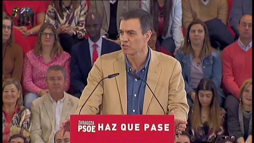 """Sánchez recupera el """"no es no"""" frente al independentismo"""