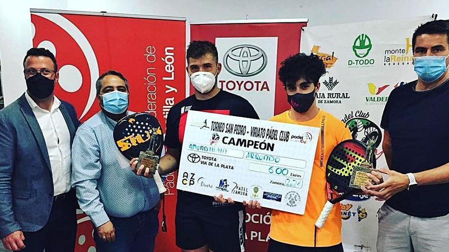 Termina en Zamora el Torneo de San Pedro de Pádel con las mejores palas de la Comunidad