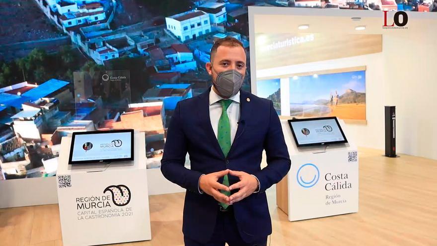 Fitur 2021   Francisco Morales, concejal de Turismo de Lorca