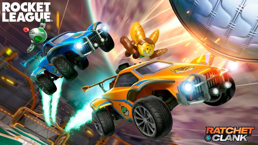 La actualización de Rocket League para PS5 trae mejoras y artículos gratis de Ratchet & Clank
