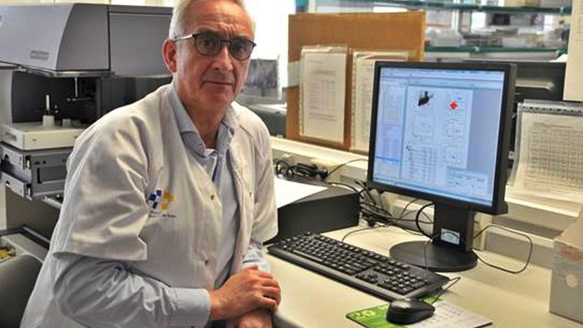 José Carlos Rodríguez, responsable del servicio de Inmunología del Hospital Universitario de Gran Canaria Dr. Negrín.