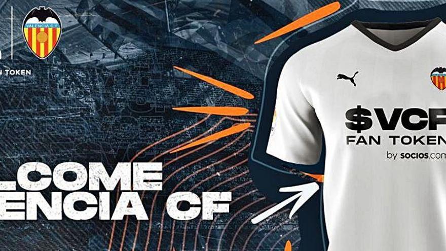 Nuevo patrocinador en el Valencia CF para fomentar la relación con los aficionados