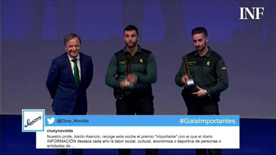 Premio Importante de julio: Jorge Albadalejo y Justo Ros