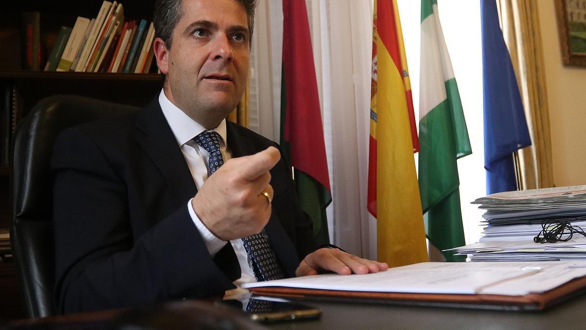 Carlos Conde, teniente de alcalde de Economía y Hacienda.