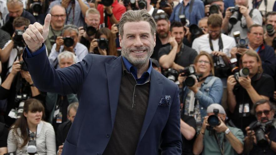 Travolta regala consejos en el Festival de Cannes