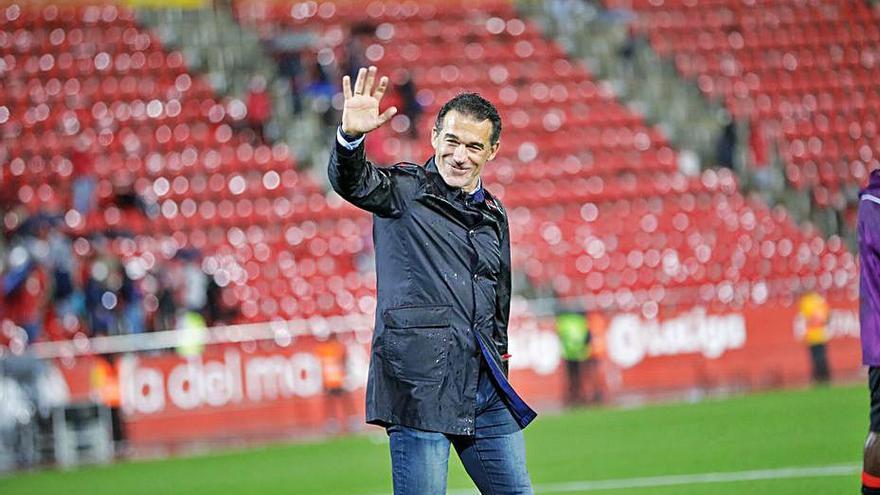 Luis García: «Ojalá los resultados me permitan echar raíces aquí»
