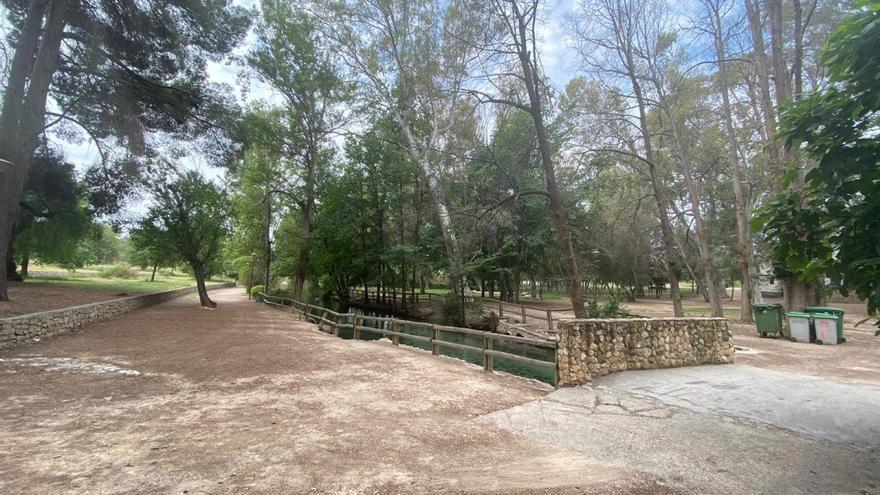Llíria pone guapo el parc de Sant Vicent
