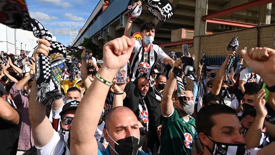 El Badajoz pone este jueves a la venta sus 2.784 entradas