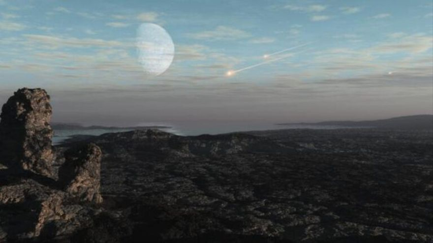 Los asteroides modelaron la atmósfera de la Tierra