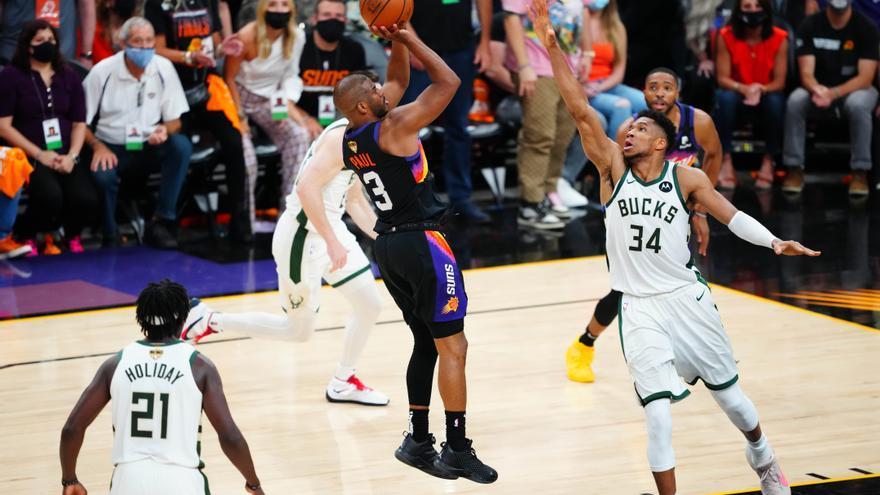 Segunda victoria para los Suns en las finales de la NBA