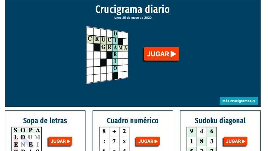 LA OPINIÓN-EL CORREO DE ZAMORA te ofrece un nuevo servicio de pasatiempos y juegos online