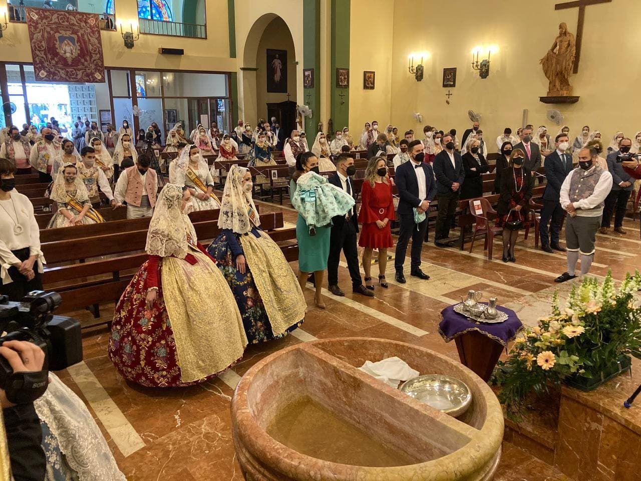 Misa de Sant Josep de las Fallas de Gandia