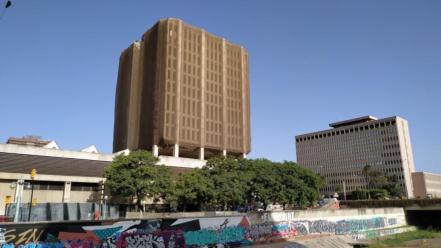 Hacienda rectifica y permite a los arquitectos optar a redactar el proyecto de reforma de su sede en Málaga