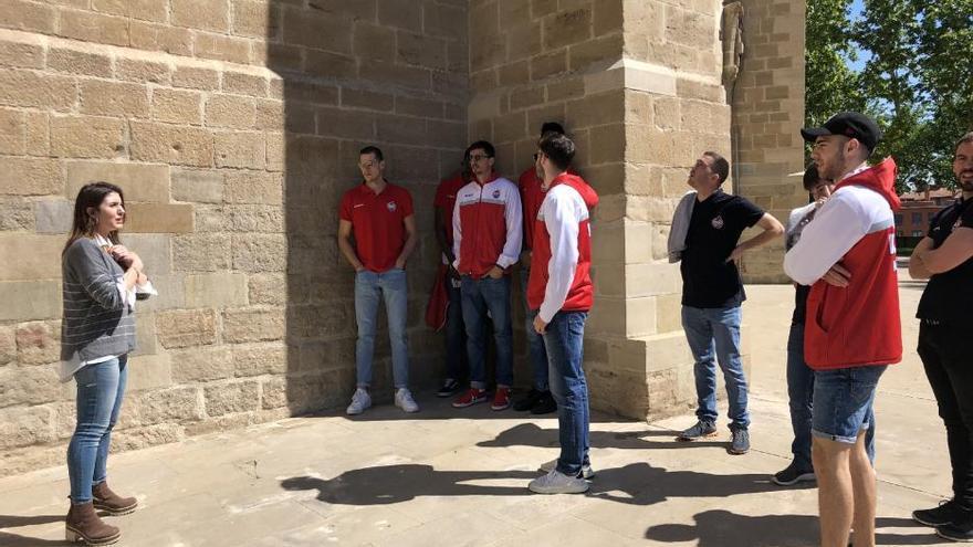 El Baxi visita la Seu i el Carrer del Balç per conèixer el projecte Manresa 2022