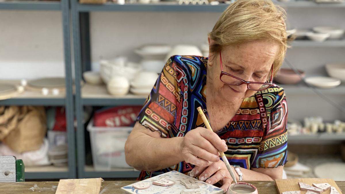 Los proyectos de artes plásticas son algunos de los que reciben ayudas.