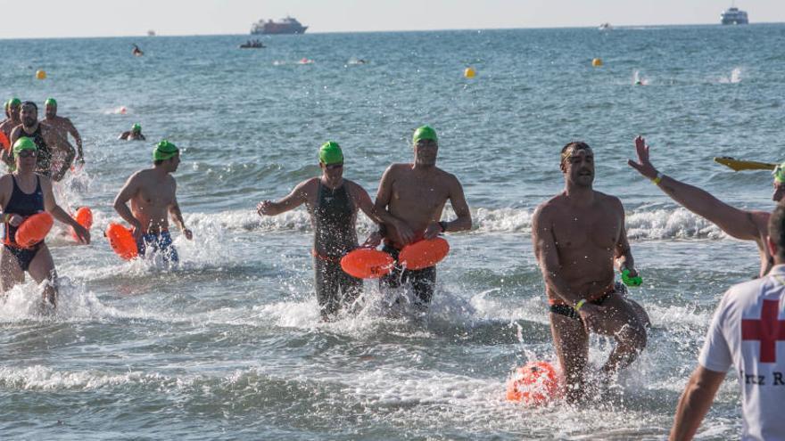 Nadadores de más de 15 países se darán cita en la Travesía Tabarca-Santa Pola