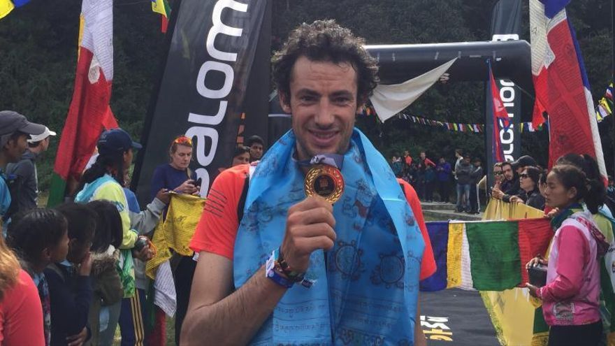 Kilian Jornet guanya les Golden Trail World Series a Nepal