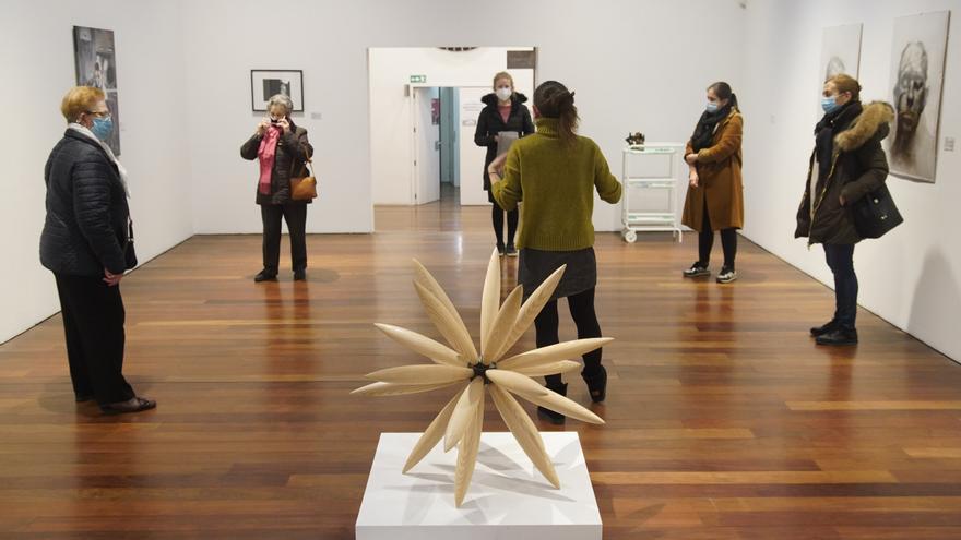 """Última visita a la exposición """"Art on the road"""" en el Museo de Zamora"""