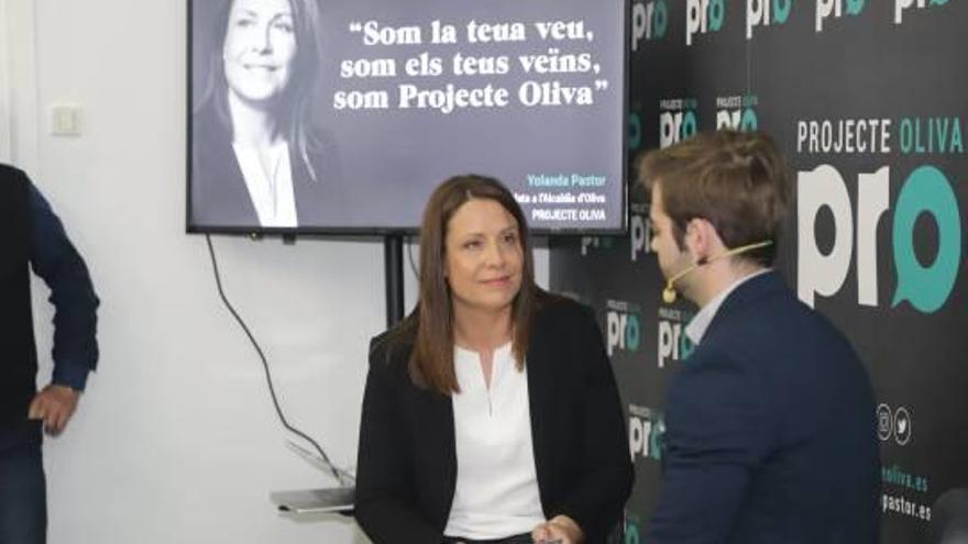 Projecte Oliva presenta a Yolanda Pastor para aspirar a la alcaldía