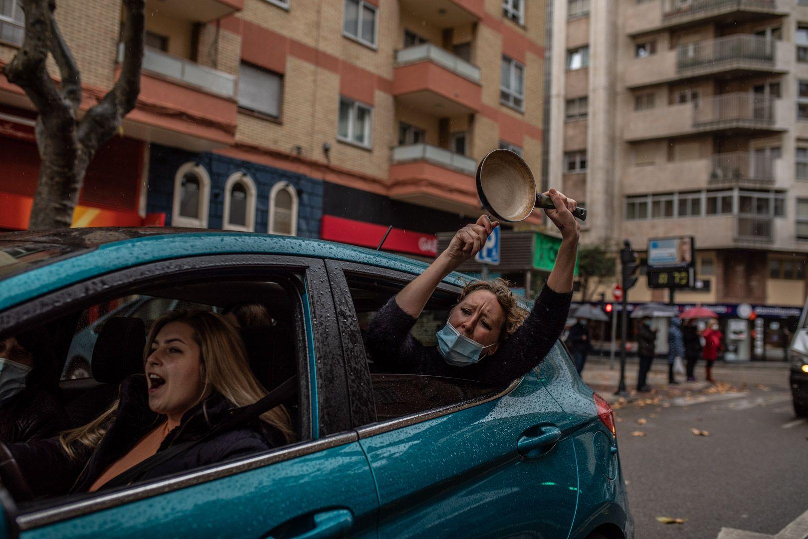Los autónomos de Zamora salen a la calle para exigir soluciones ante la crisis