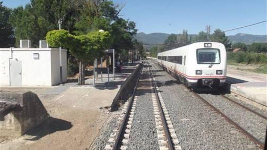 Adif licita las obras de renovación de la vía en el tramo Plasencia de Monte-Ayerbe