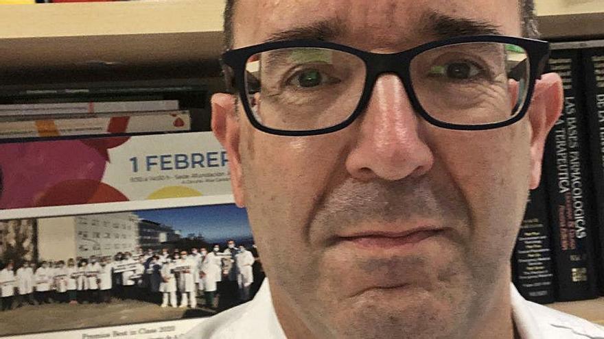 El doctor José Manuel Fandiño.   | // L.O.