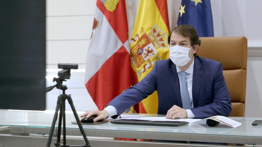 """Mañueco: """"En Castilla y León seremos inflexibles con la minoría de jóvenes que no acata las normas"""""""