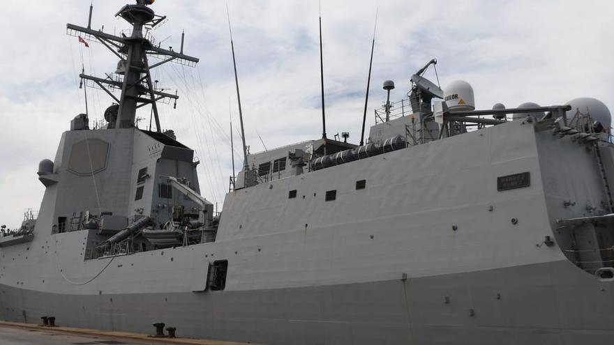 Aviones y fragatas de guerra toman Castellón