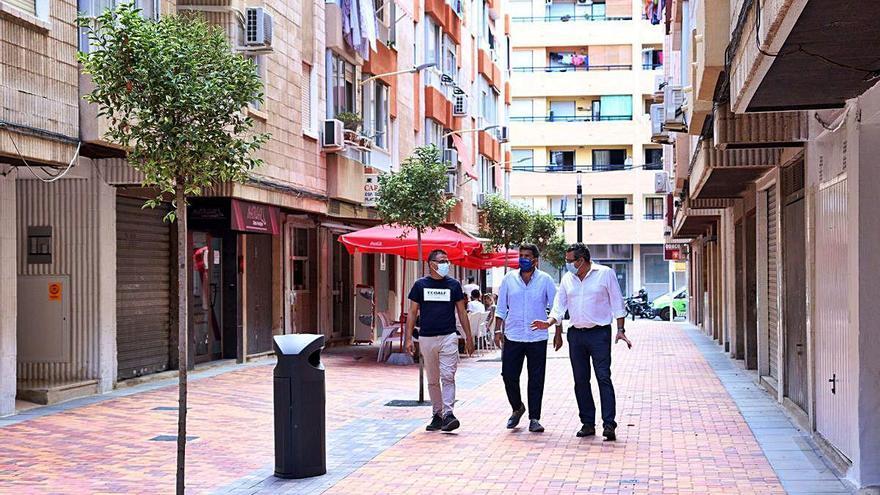 Mazón concreta en Benidorm y Finestrat actuaciones de la Diputación en ambos municipios