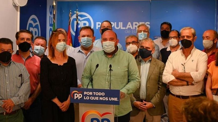 Manuel Naharro se convierte en candidato único a la presidencia del PP provincial de Badajoz