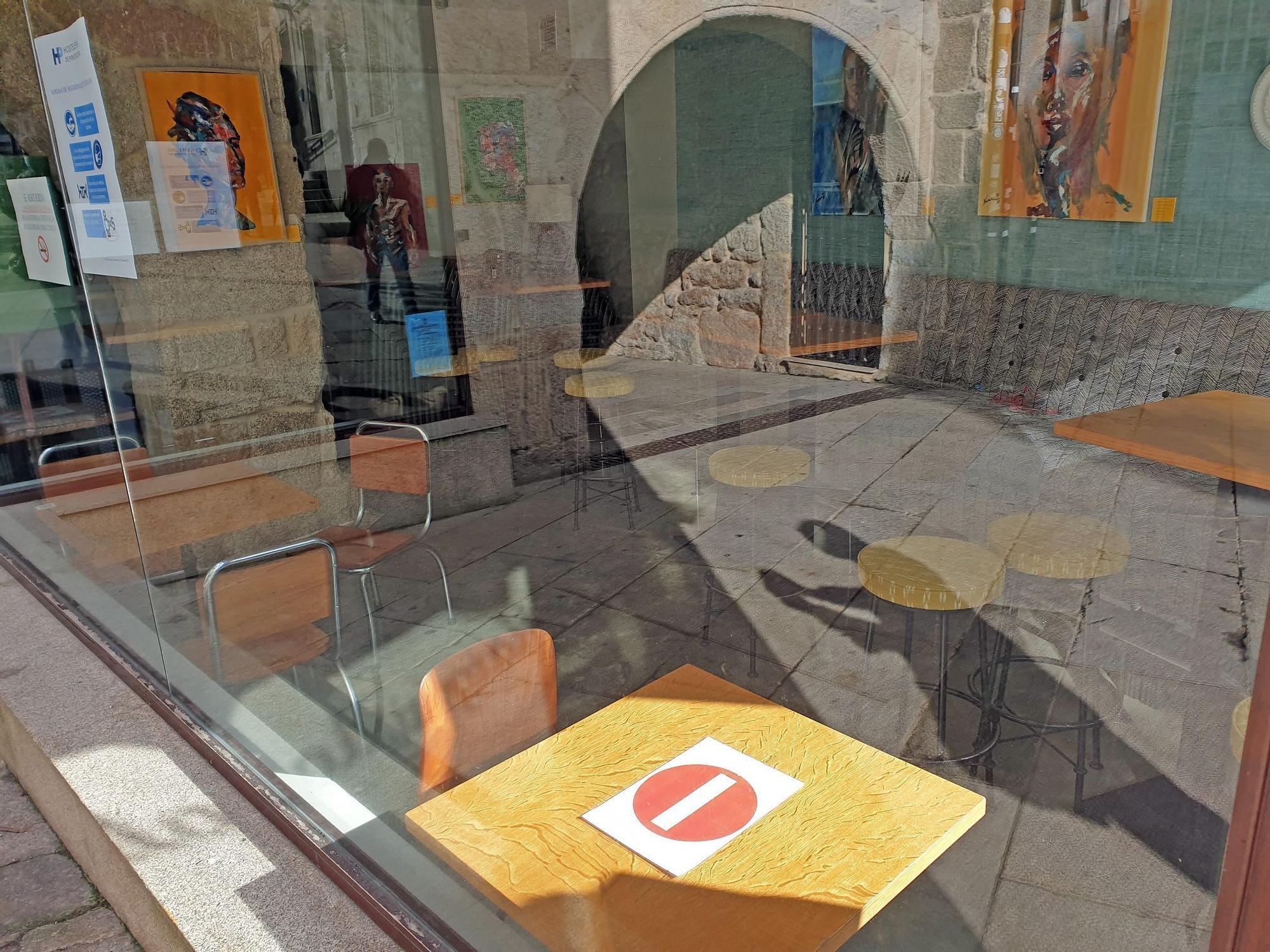 Así ha vivido Vigo el primer sábado de cierre de la hostelería